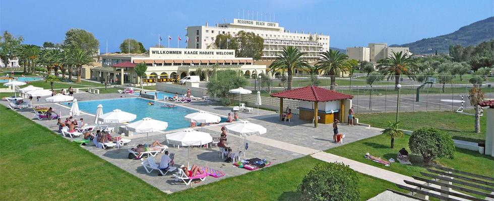 Messonghi Beach Hotel - Corfu Greece - Messonghi Resorts - Corfu Accommodations