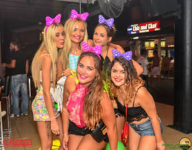 Rockys Bar Kavos Crowd