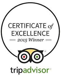 Terry's Taverna Kavos Trip Advisor Award 2015