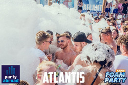 Kavos Party Life - Kavos Clubbing - Kavos Events - Mega Foam Party Kavos - Atlantis Club Kavos Corfu