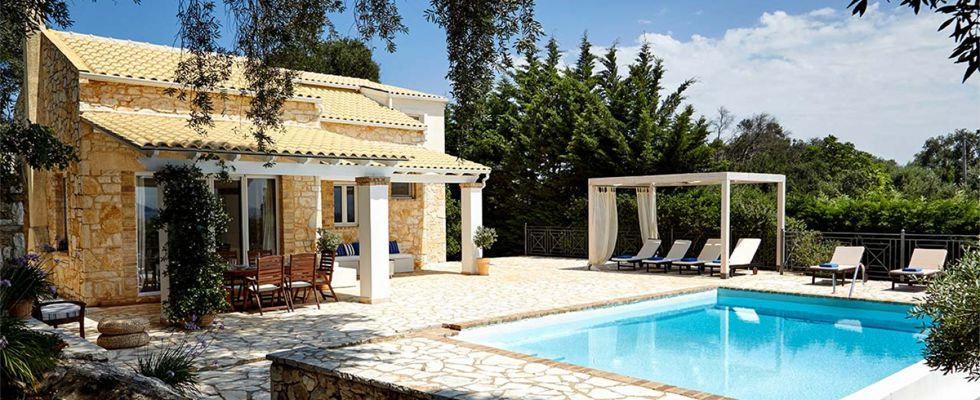 Villa Ricci San Stefano | Greek Luxury Villas | Best Accommodations In Corfu | Amazing Villas In Corfu | Cheap Villas In Greece | Summer Villas In San Stefano | Avlaki Beach Villas