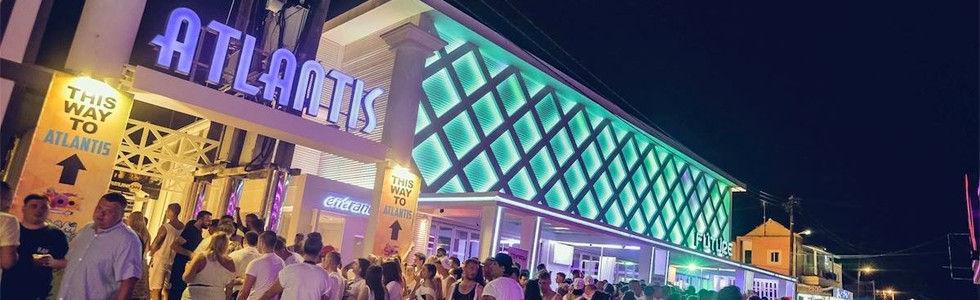 Atlantis Beach Venue Kavos Corfu   Mega Foam Party Kavos   Super Paint Party Kavos   Full Moon Party Kavos   Holi Colours Party Kavos