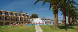 Accommodations In Corfu - Greek Hotels - Messonghi Beach Hotel - Bungalows In Corfu Greece