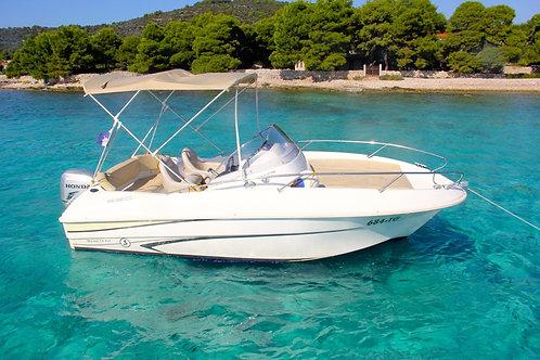 Coastal Cruiser | Boat Rental | Kavos | E-Booking | Aug 2021