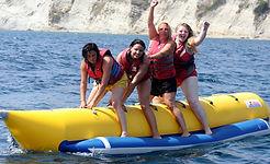 Kavos Banana Towable | Kavos Water Sport | Kavos Corfu Water Activities | Kavos Corfu Beach Life