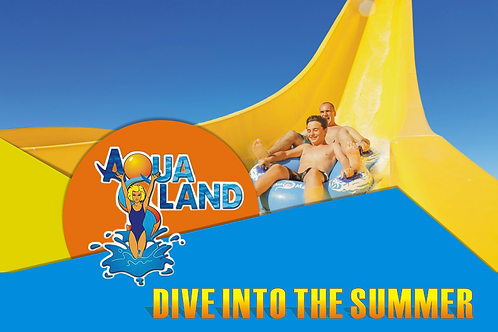 Aqualand Water Park | Kavos | Corfu | E-Ticket | June 2020