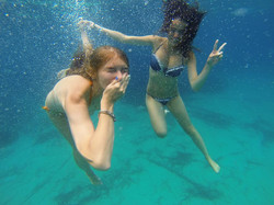 Underwater Pictures And Videos From Glass Bottom Boat Trip In Kavos Corfu