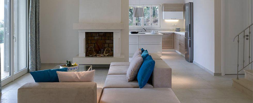 Villa Conti In Barbati Corfu - Greek Luxury Accommodations - Best Villas In Corfu Greece