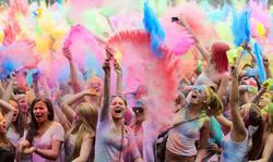 Holi Colours Party - Kavos Parties - Kavos Events - Kavos Clubbing - Atlantis Beach Venue Kavos Corf