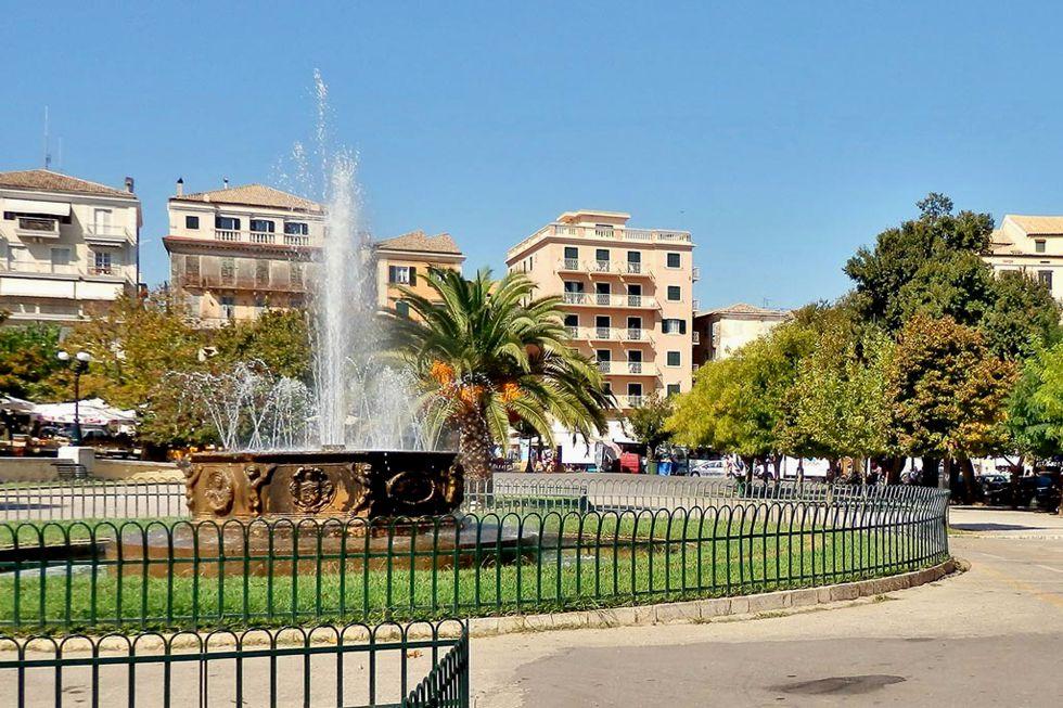 Spianada Square - Corfu Town - Grand Isl