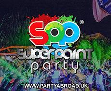 Super Paint Party Kavos Corfu   Atlantis Beach Venue Kavos   Europe's Biggest Paint Party