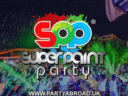 Super Paint Party 2020 | Atlantis Kavos | June 27th Sat | Entry Ticket