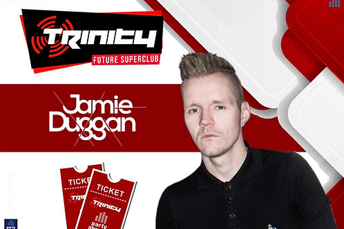 Jamie Duggan | Trinity 2020 | Future Superclub Kavos | Wed 2nd Sep | E-ticket