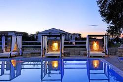 Island Beach Resort Kavos Corfu - Poolside Cabanas