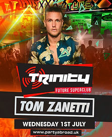 Tom Zanetti Trinity Event Kavos July 1st 2020