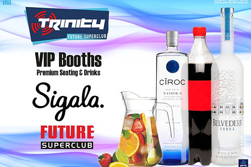 VIP Booth | Sigala | Trinity 2019 | Future | Kavos | July 10th Wed