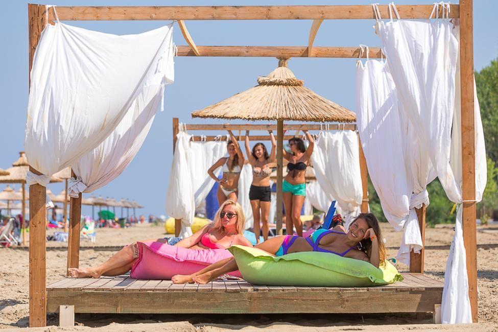 Island Beach Resort Kavos Corfu - Beach Cabanas