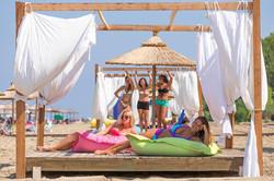 Island Beach Resort Kavos Corfu - Beach Cabanas