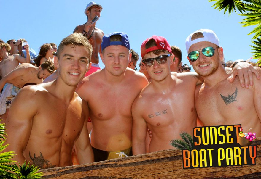 Sunset Boat Party Kavos Corfu - 1 Hour Free Bar - Sunset Booze Cruise - Party On A Boat In Kavos - U