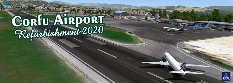 Corfu Airport Refurbishment 2020