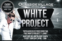 White Project Party Quayside Village