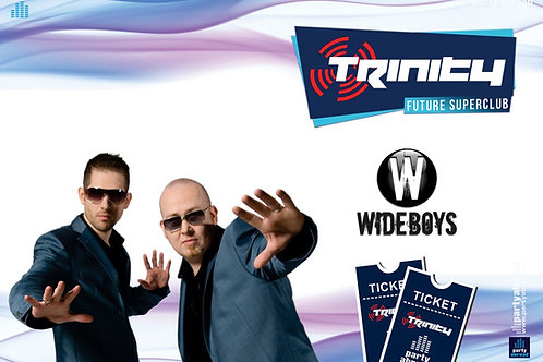 The Wideboys | Trinity 2019 | Future Superclub Kavos | Wed 4th Sept | E-Ticket