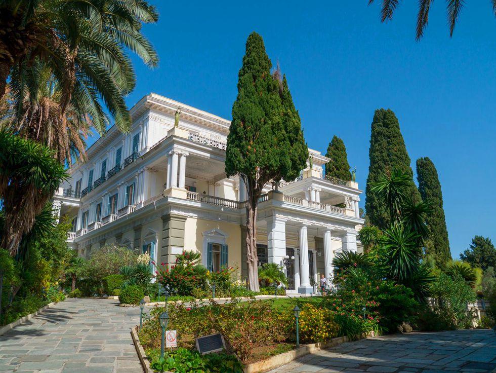 Achillion Palace - Corfu - Kavos Excursi