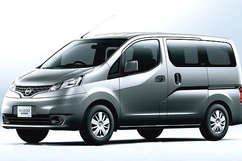 1600cc | Nissan Evalia | 7 Passenger | Kavos Minivan Rental | July 2018