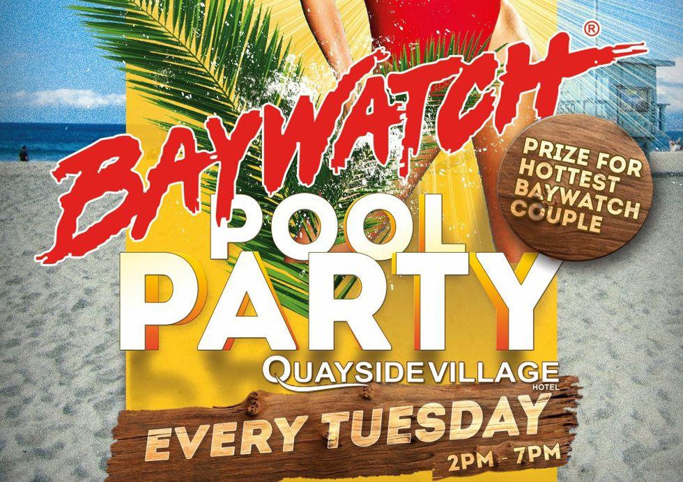 Baywatch Pool Party Kavos - Quayside Village Hotel Kavos Corfu