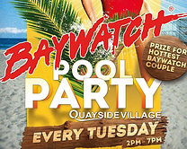 Baywatch Pool Party At Quayside Village Kavos Corfu | Kavos Parties | Kavos Events | Kavos Party Calendar