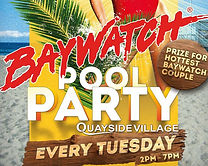Baywatch Pool Party Kavos - Quayside Vil