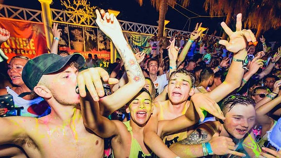 The most colorful event in Kavos Corfu | Superpaint Party