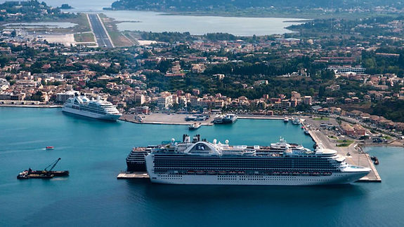 Corfu Port expects 400 cruise ships in 2019