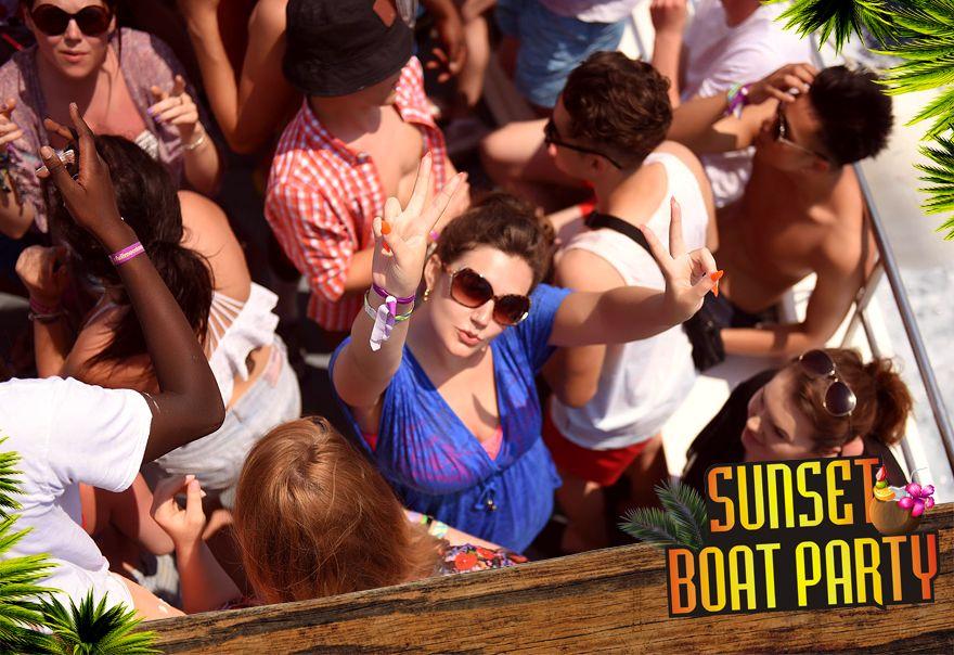 Sunset Booze Cruise Kavos - Captain Theo Kavos Corfu - Awesome Boat Party - Ultimate Experience - Ka