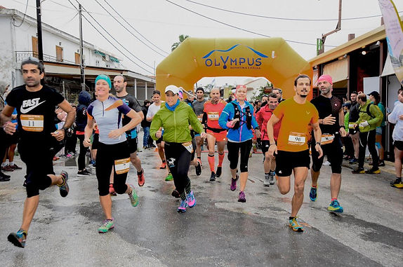1st ever Arkoudilas Trail 2018 starting from Kavos