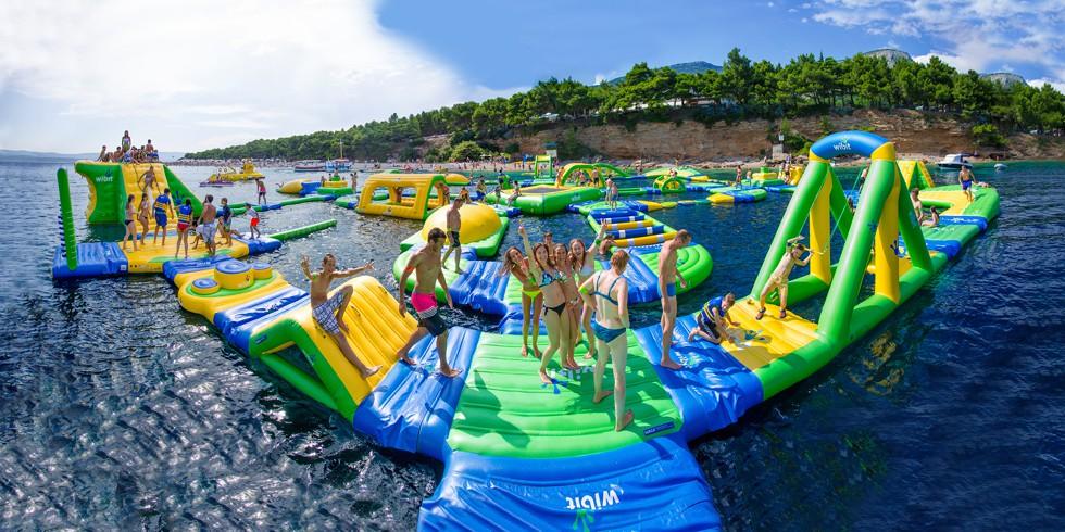 Aqua Park In Kavos Corfu - Kavos Activities - Kavos Watersports - Kavos Fun - Kavos Entertainment