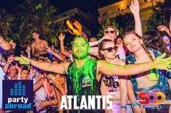 Kavos Nightlife - Kavos Clubbing - Super Paint Party Kavos - Atlantis Beach Club Kavos Corfu