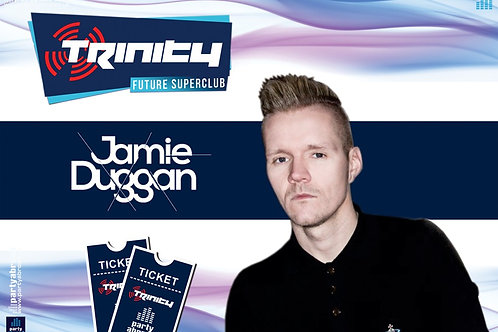 Jamie Duggan | Trinity 2019 | Future Superclub Kavos | Wed 28th Aug | E-Ticket