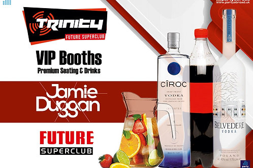 VIP Booth | Jamie Duggan | Trinity 2020 | Future | Kavos | Sep 2nd Wed