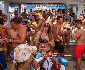 Cavo D'Oro Beach Club Kavos Pool Party