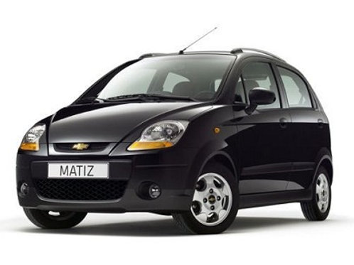 800cc | Chevrolet Matiz | 4 Passenger | Kavos Car Rental | May 2018