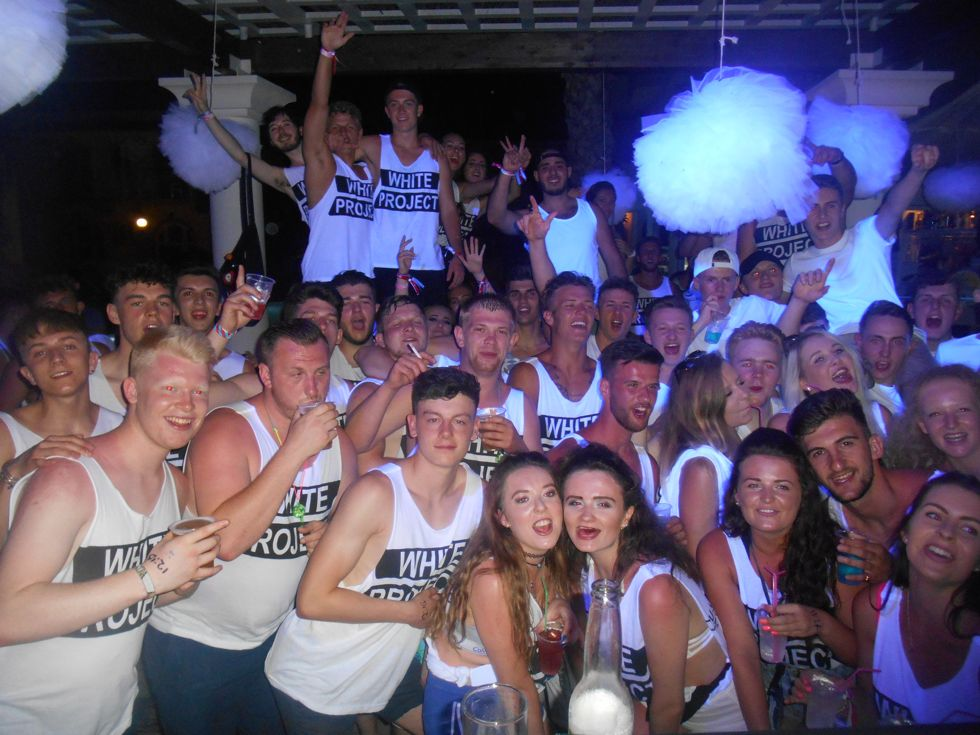 White Project Party | Kavos | Corfu