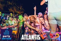 Kavos Party Life - Kavos Event Calendar - Super Paint Party Kavos - Atlantis Beach Club Kavos Corfu