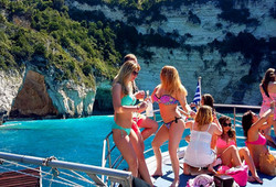 Poseidon's Bay And Caves - Kavos Cruises - Kavos Boat Trips - Kavos Excursions - Explore The Ionian