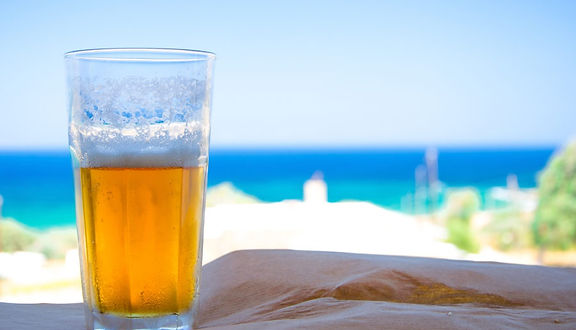 Food and alcohol 21 percent cheaper in Corfu Greece