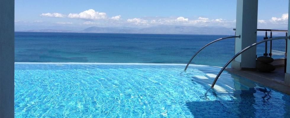 Villa With Pool In Corfu - La Pearl Villa Messonghi - Luxury Accommodations In Corfu