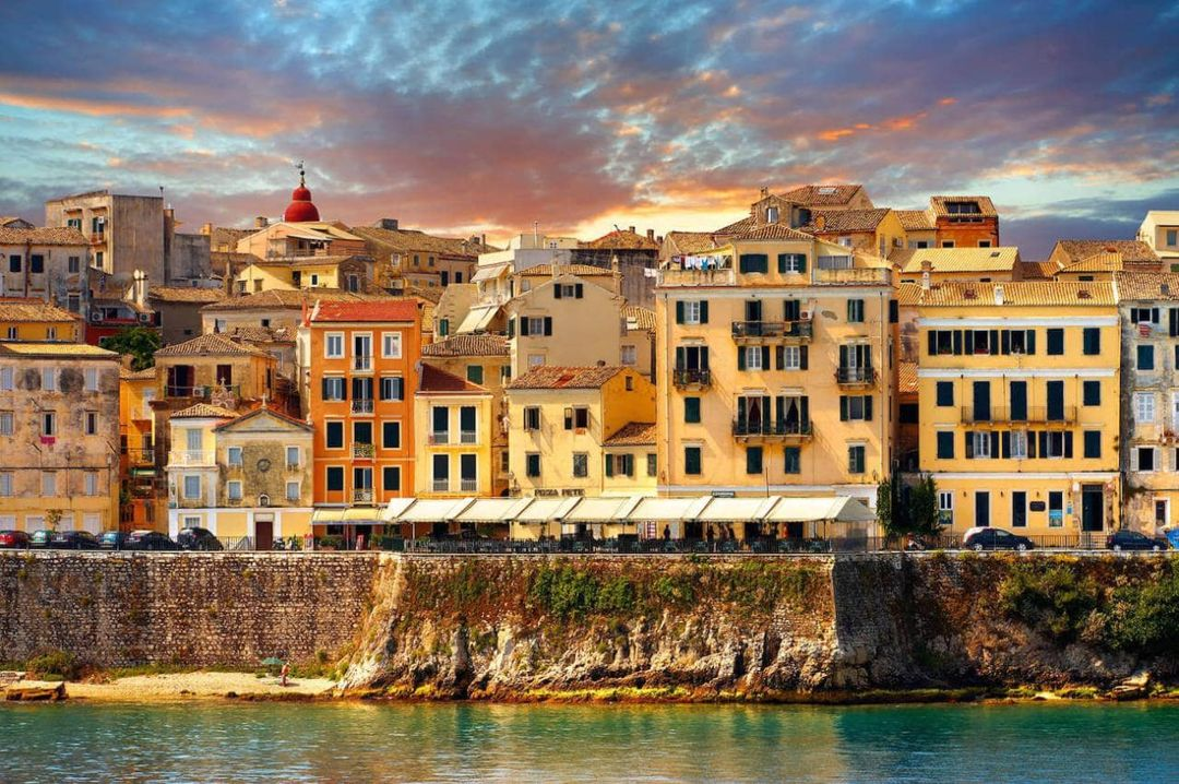 Traditional Greek Corfu Town Discover The Capital Of Corfu