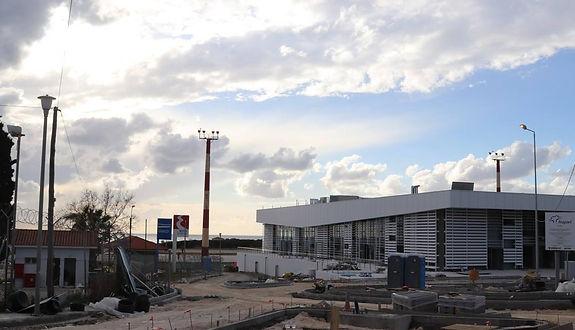 Corfu Airport New Terminal