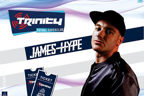 James Hype | Trinity 2019 | Future Superclub Kavos | Wed 3rd July | E-Ticket