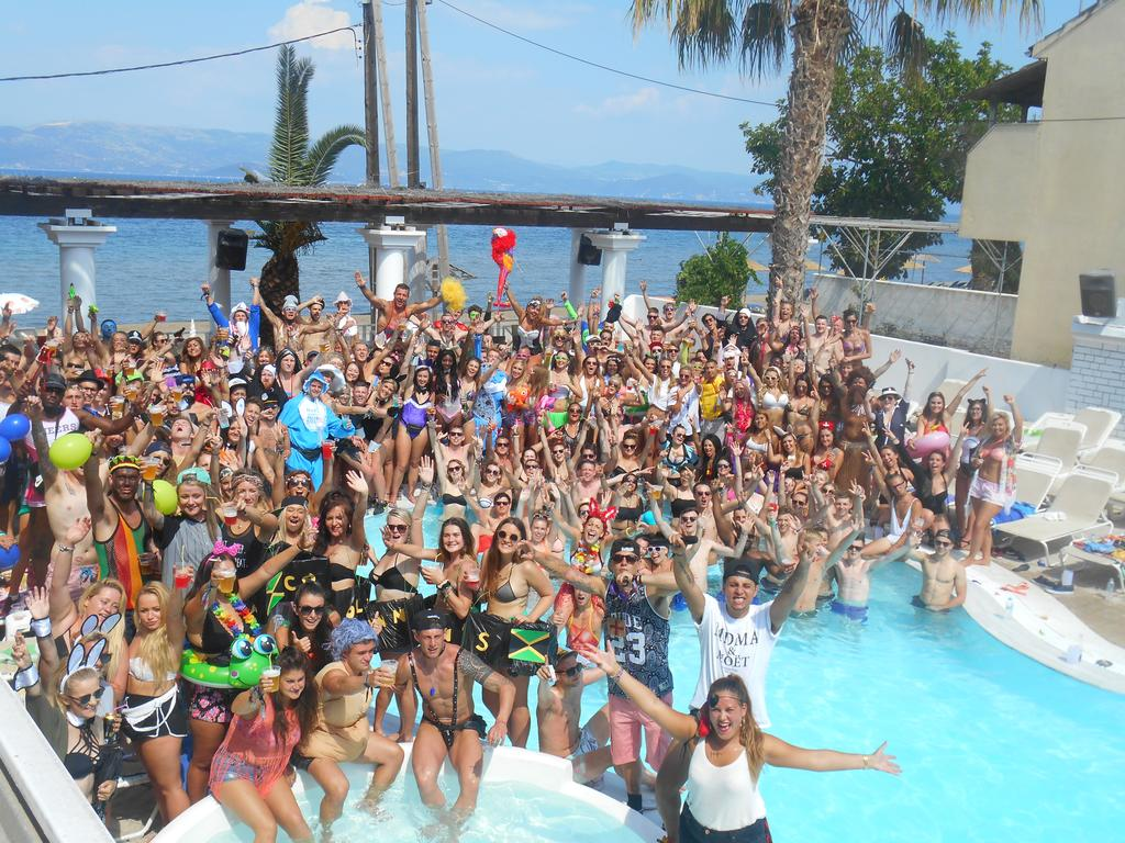 Quayside Village Hotel Kavos Corfu - Greek Party Resorts - Massive Pool Parties Kavos